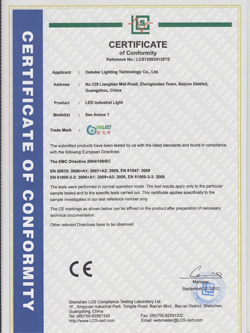 led light ce certification
