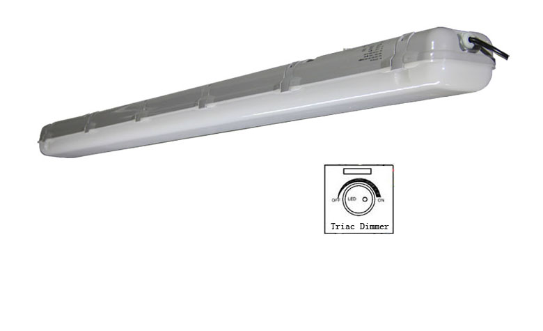 triac dimmable led tri-proof light pc 50w 1500mm 780x475mm a