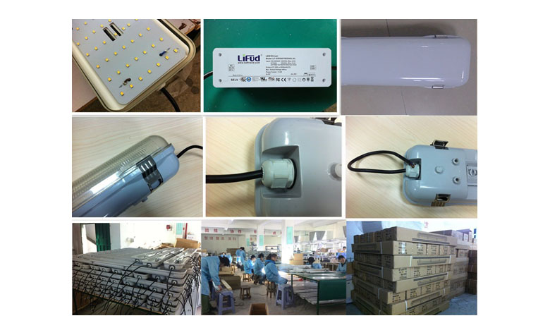 led tri-proof light products line d pc 50w 1200mm 780x475mm