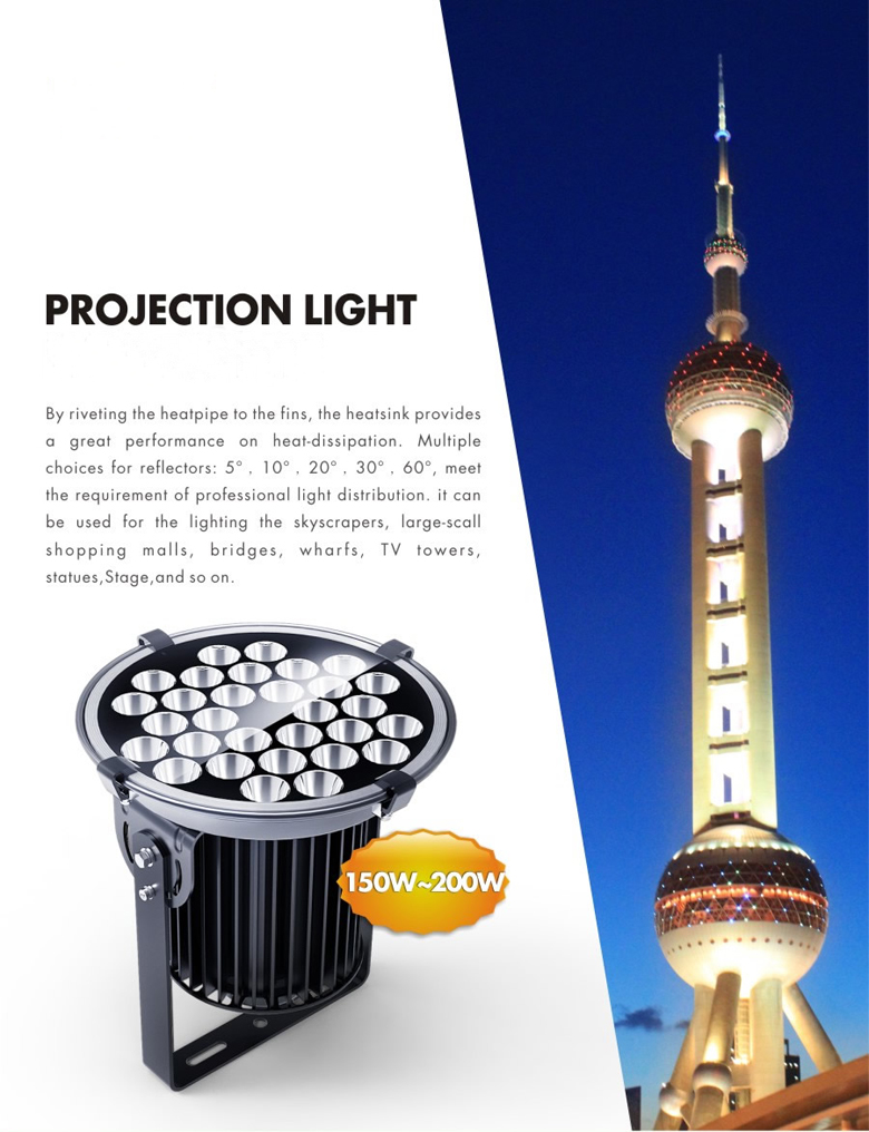 150w led projection light 1