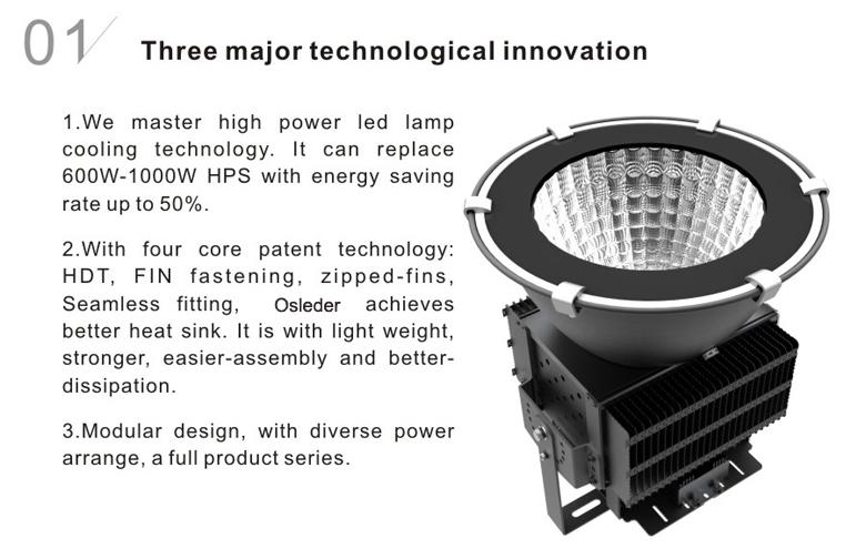 led high bay light d series 150w 1