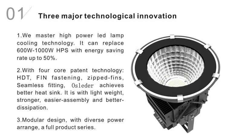 led high bay light d series 200w 1
