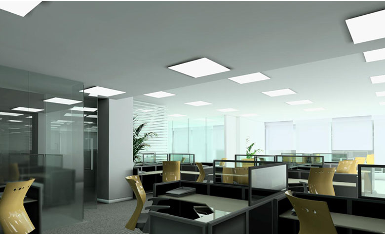 led panel light 620x620mm 780X475 application