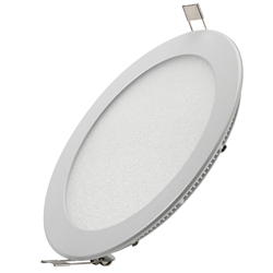 recessed round led panel light 240 250x250