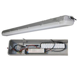 emergency led tri-proof light pc 50w