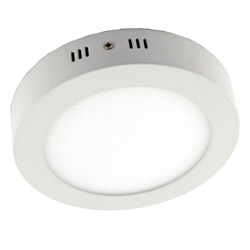 Surface Mounted Round LED Panel Light 12W D170mm 250x250