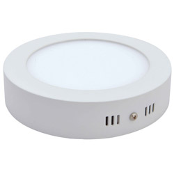 Surface Mounted Round LED Panel Light 15W D200mm 250x250