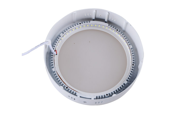 Surface Mounted Round LED Panel Light 18W D225mm 780x475 b
