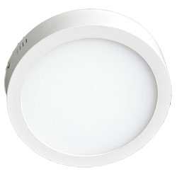 Surface Mounted Round LED Panel Light 20W D240mm 250x250