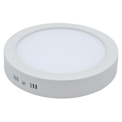 Surface Mounted Round LED Panel Light 24W D300mm 250x250