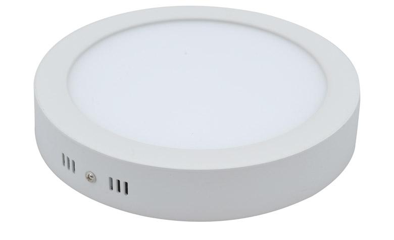 surface mounted led panel light round 300mm 24w 2500lm osleder lighting. Black Bedroom Furniture Sets. Home Design Ideas