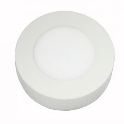 Surface Mounted Round LED Panel Light 3W D85mm 250x250