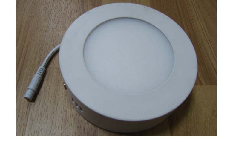 Surface Mounted Round LED Panel Light 9W D145mm 780x475mm a