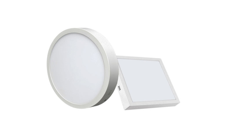 Surface Mounted Square LED Panel Light 18W 225x225mm 780x475 b
