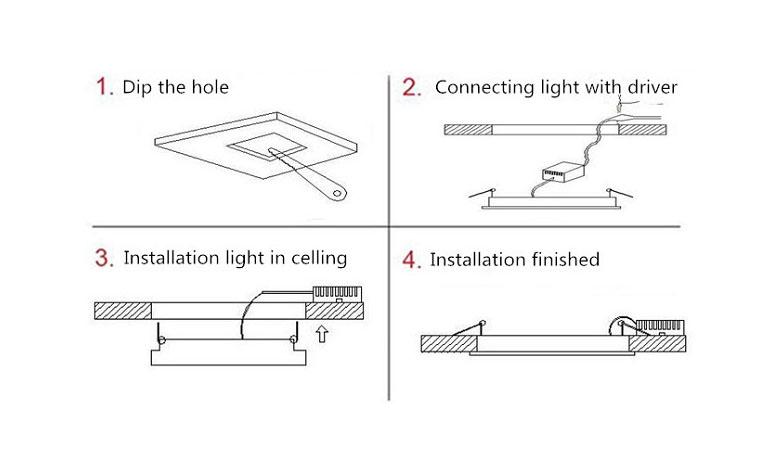 installation-round-led-panel-light 200