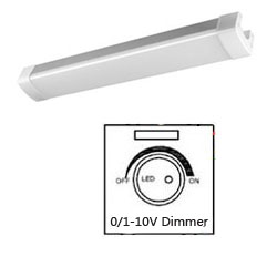 01-10V Dimmable LED Tri-proof Light AL 30w 600mm 250x250mm