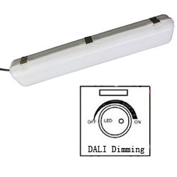 dali dimmable led tri-proof light 600mm 20w 250x250mm