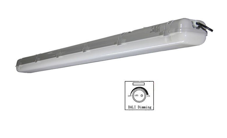 dali dimmable led tri-proof light pc 50w 1500mm 780x475mm a