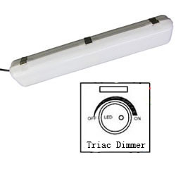 triac dimmable led tri-proof light 600mm 30w 250x250mm