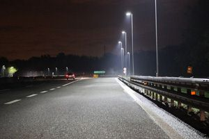 100W Street Light for Entrance and Exit Roads of Tunnel Sv. Ilija, Croatia