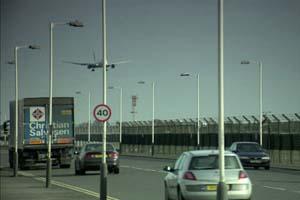 150W Street Light at Heathrow Airport, London