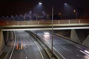 180W Street Light for A5 Tamworth Bypass, UK