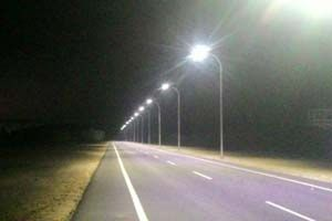200W LED Street Light Project in Malaysia