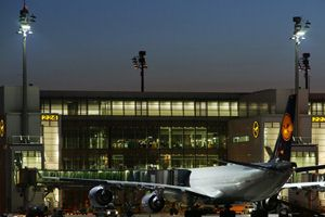 300W LED Floodlight at Munich Airport @ Germany