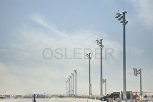 500W LED Floodlight in Adelaide Airport @ Australia