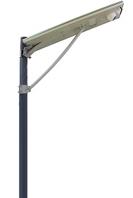 Integrated Wifi Camera 15W All In One Solar LED Street Light