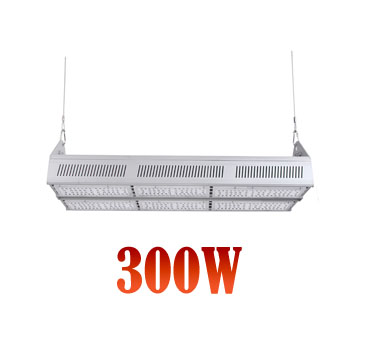 Suspension LED Linear High Bay Light 300W Philips SMD3030 130lm/w