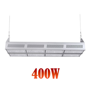 Suspension LED Linear High Bay Lighting Fixtures High Power 400W