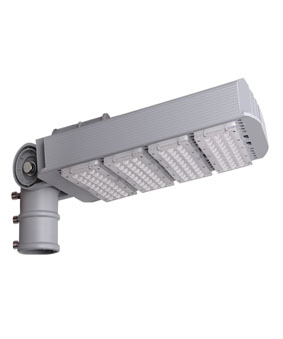 160W Adjustable LED Street Light LifeSpan 50000h Cetificate by CE&RoHS