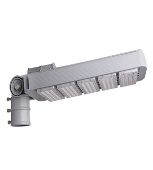 Adjustable Street Light 200W Material by Aluminum + PC Philips 3030 Chip