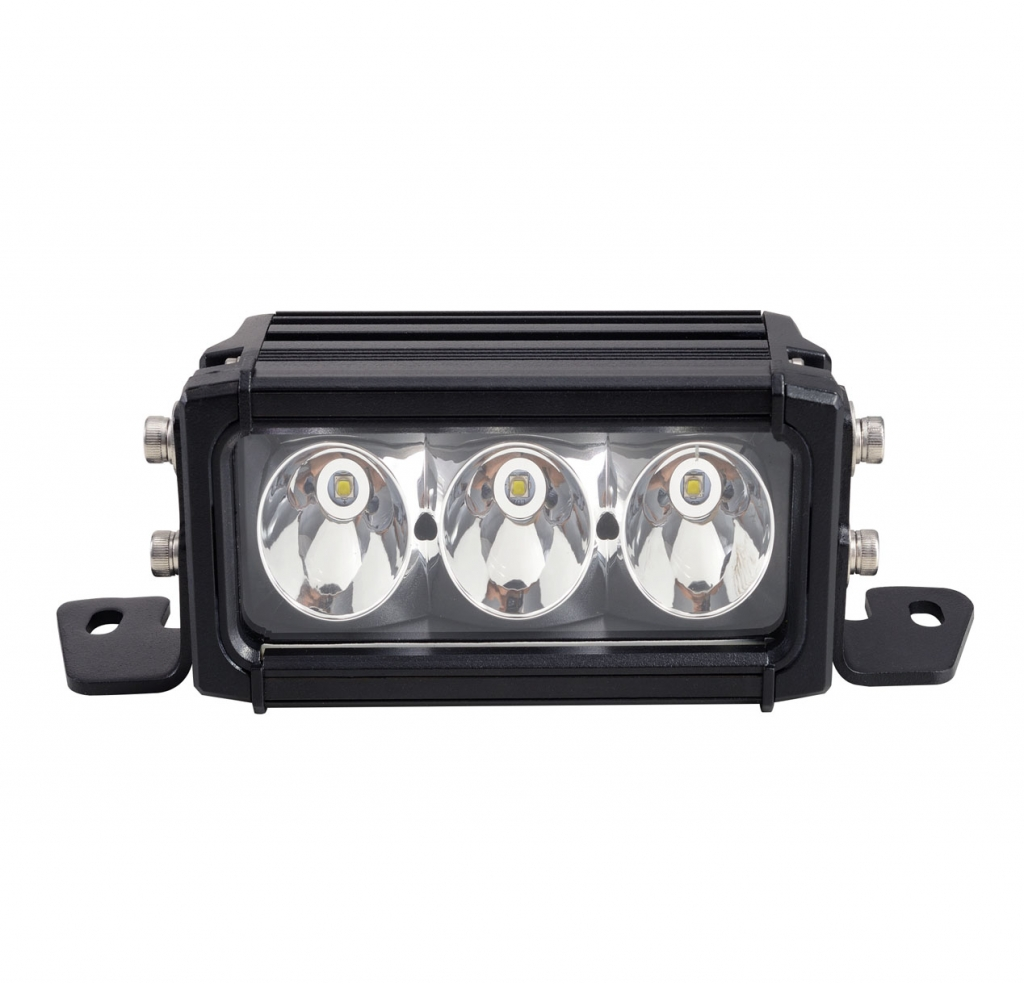 6.4inch 30W Spot Beam Single Row Offroad Light Bar 2580LM