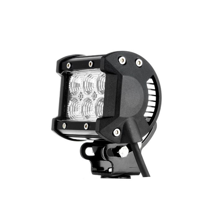 4 10inch off road led light bar cree led work light 4 inch 18w cree spot beam dual row led work light bar aloadofball Images