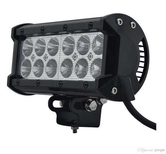 7 inch 36W Cree Spot/Flood Beam Offroad LED Light Bars
