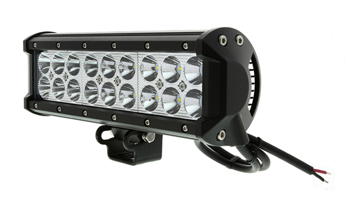 9 inch 54W Cree Flood/Spot Beam Offroad Dual Row LED Light Bar