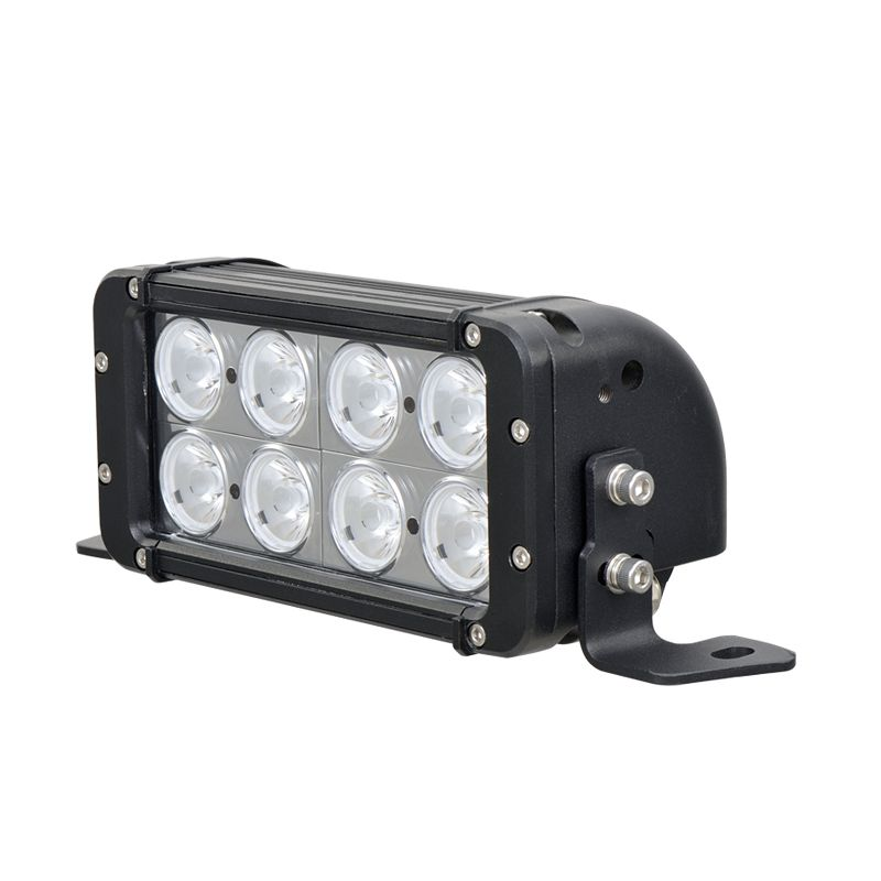 8 inch 80w Dual Row OSRAM/CREE Spot Beam Small LED Light Bar