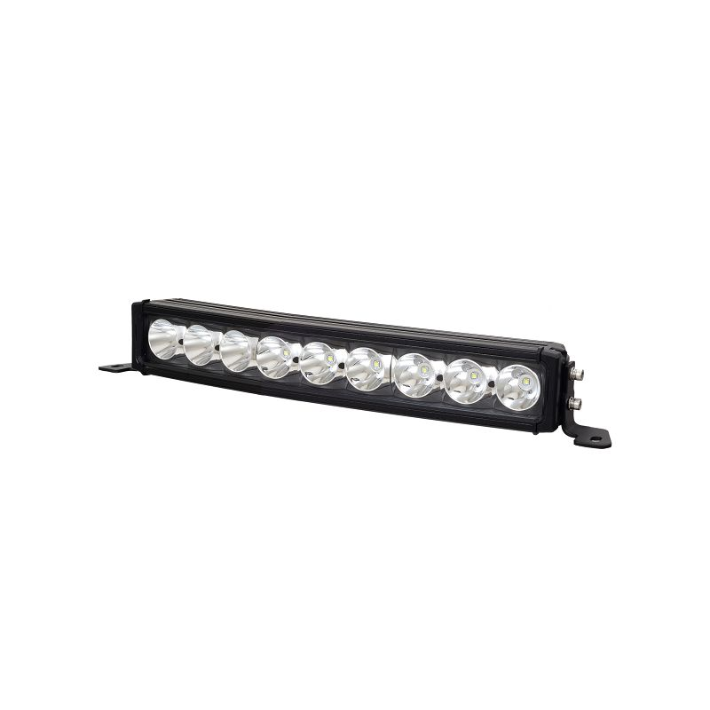 18 inch 90w Singh Row Cree Spot Beam Curved LED Light Bar