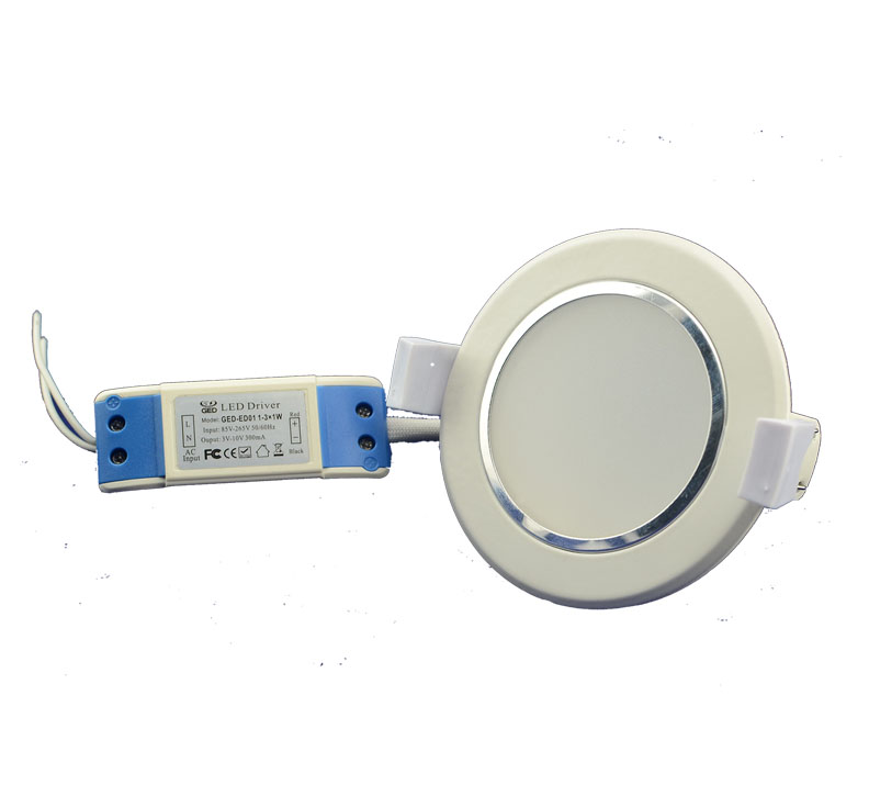 Fluorescent Light Delayed Start: COB/SMD Epistar 5730 LED Downlight Fixtures 3W-20W Series