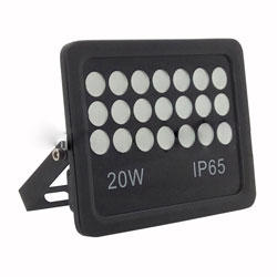 20 Watt LED Outdoor Floodlight IP65 Aluminum Epistar SMD3030